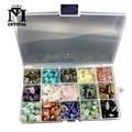 Fifteen kinds Natural crystal and Gemstone Stone Quartz Rock Mineral specimen Healing Reiki home decor