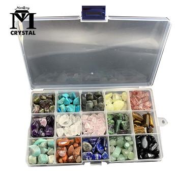 Piętnaście rodzajów naturalny kryształ i kamień szlachetny kwarc gatunek minerału uzdrawiający Reiki home decor tanie i dobre opinie Maskotka Sztuczne Chiny