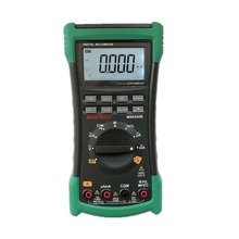 MASTECH MS8340B High Quality Auto Range True-RMS Digital Multimeter DMM Capacitance&Frequency Test&USB Interface Meter Testers mastech new professional digital multimeter for electrician ms8250a multimetro capacitance frequency meter vs fluke f17b 15b