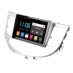 Image 5 - 현대 Rohens 2008 2013 안드로이드 10 2 딘 자동차 라디오 네비게이션 GPS Bt 플레이어 9 인치 스크린 스테레오 헤드 유닛