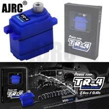 Powerhd TR-4 traxxas TRX-4 defensor bronco g500 trx6 g63 diferencial de bloqueio deslocamento à prova dwaterproof água metal engrenagem pequeno servo substitui 2065