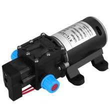 12V 60W Electric Diaphragm Water Pump Automatic Switch 160Psi High Pressure Car Washing Spray Water Pump 8L/min