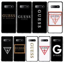 Luxury brand united state brand guess Inverted triangle phone case for
