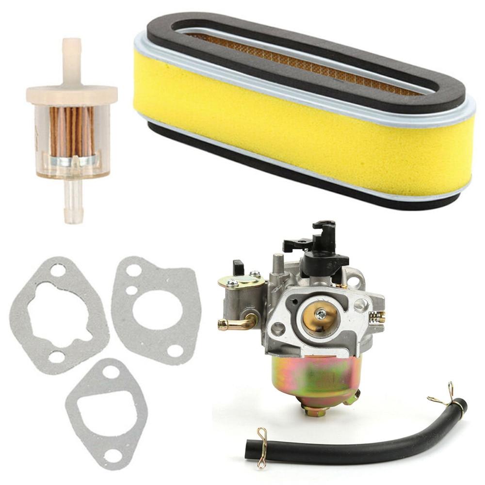 Carburetor Kit  Air Filter Fuel Line Replacements For Honda GXV120 GXV140 GXV160 HR194 HR195 HR214 HR215 HR216