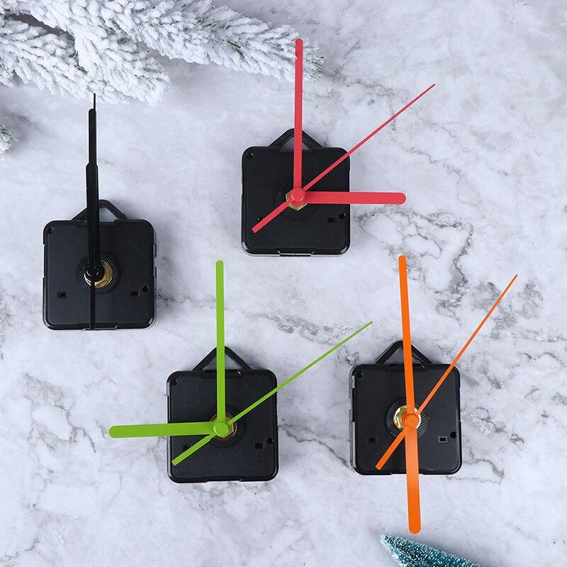 Portable silencieux horloge coloré mains Quartz horloge murale mécanisme mouvement réparation pièces de rechange horloge pièces