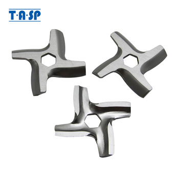 3pcs Meat Grinder Knife Spare Parts for Moulinex HV2 HV3 HV4 HV6 HV8 Polaris PMG1845 Vitek 3627 Kitchen Appliance Mincer Blade 1