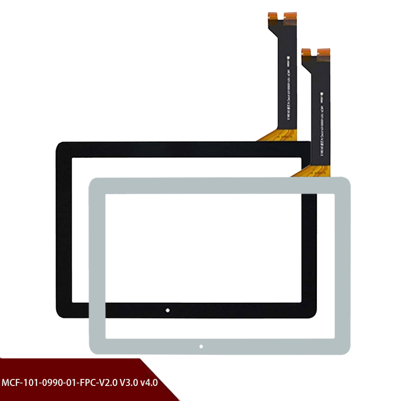 Original 10.1''inch Touch Screen Touch Digitizer Replacement Glass Panel For Asus MCF-101-0990-01-FPC-V2.0/3.0/4.0 Free Shipping
