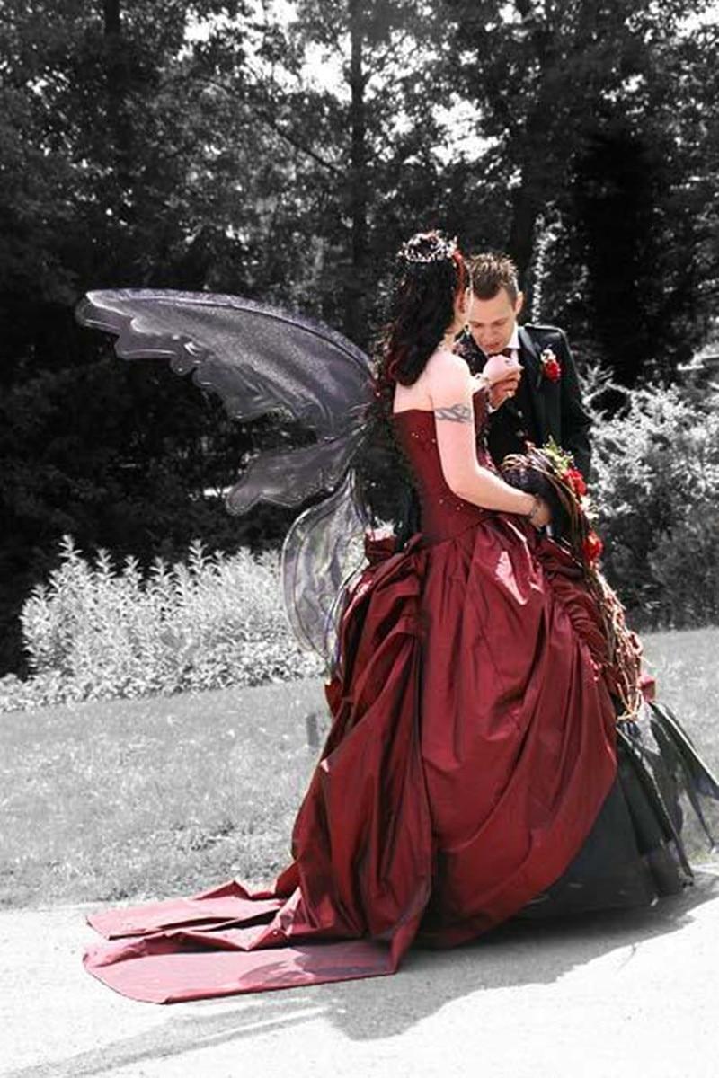 Купить средневековый черный и темно красный цвет искусственная кожа