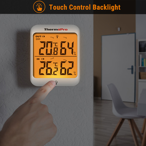 Image 5 - ThermoPro TP63A 60M Wireless Indoor Outdoor Weather Station Hygrometer Thermometer Digital Humidity Thermometer With Backlight