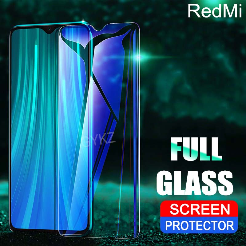 2Pcs Full Screen Tempered Glass For Xiaomi Redmi Note 8 PRO 8 8A Screen Protector Explosion-proof Glass For Redmi 8A Note 8 Pro