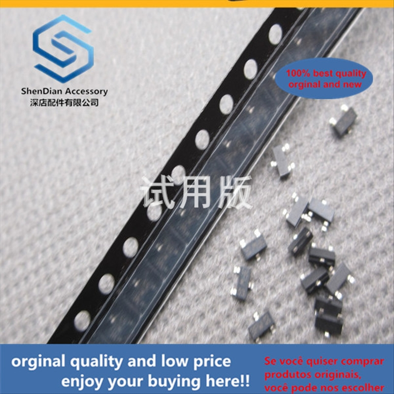 50pcs 100% Orginal New Best Quality SMD Crystal Transistor BC857B Silkscreen 3Ft 0.1A 45V PNP SOT23