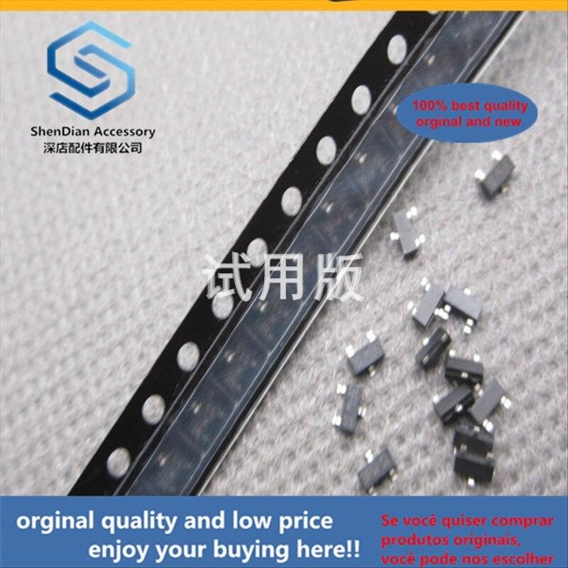 50pcs 100% Orginal New Best Quality SMD Crystal Transistor BC857B Silkscreen 3Ft 0.1A 45V PNP SOT23