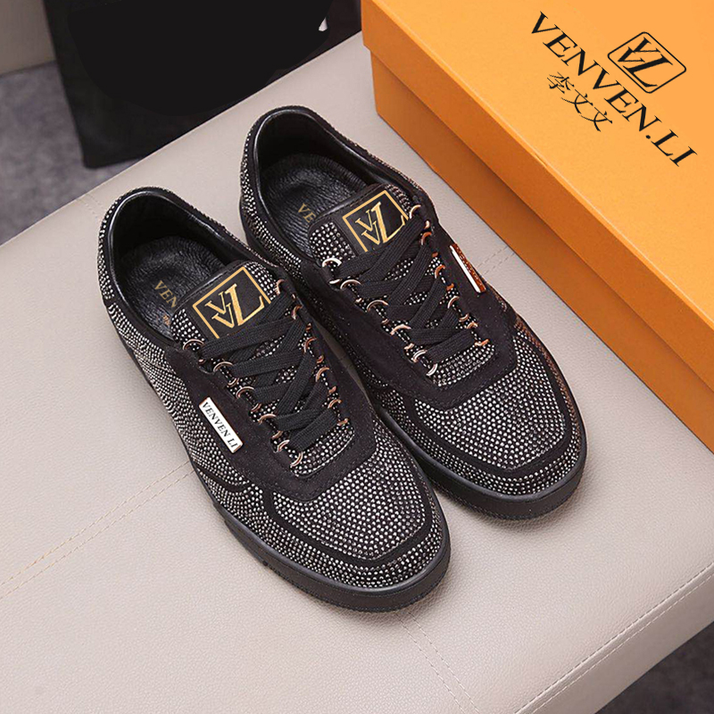 French brand vvl2020 trend men's shoes original single high quality leather imported from Italy top luxury standard manufacture|Men's Casual Shoes| - AliExpress