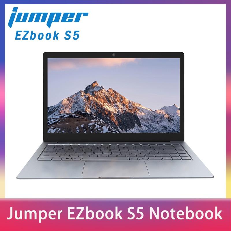 Jumper EZbook S5 14.0 Inch 8GB Ram 256GB SSD CPU N3450 1920*1080 FHD IPS 1.25KG Light 4600mAh Windows 10 Notebook Windows Laptop