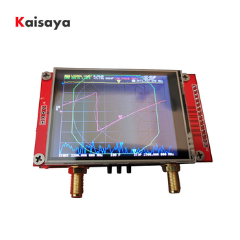 2.8 inch Latest NanoVNA V2 3G Vector Network Analyzer S-A-A-2 Shortwave HF VHF UHF Network Antenna Analyzer T0980