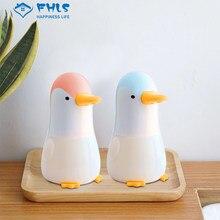 Dispensador De Jabon Automatico sabunluk sevimli penguen akıllı indüksiyon köpük yıkama el Sanatizer banyo ürünleri