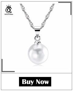 H39b864c33a80434d9300310f023654f3c ORSA JEWELS 925 Sterling Silver Women Necklaces&Pendants Freshwater Pearls Unique Mermaid Pendants Fashion Female Jewelry PSN48