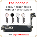 Fabrik entsperrt Gute Getestet Motherboard für iphone 7 4.7 zoll motherboard, 32GB 128GB 256GB Mit/Ohne Touch ID Logic boards
