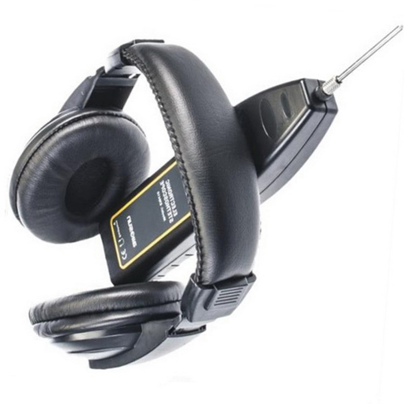 Car Circuit Detector Automotive Noise Sensor Long & Short Probes Abnormal Sound EM410 Electron Detector Stethoscope Power Switch