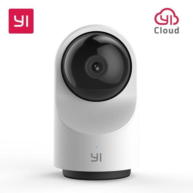 YI cámara domo X 1080P, cámara de seguridad FHD con WIFI, Audio bidireccional basado en Ia, detección de humanos/mascotas, visión nocturna, ranura para tarjeta SD/YI Cloud