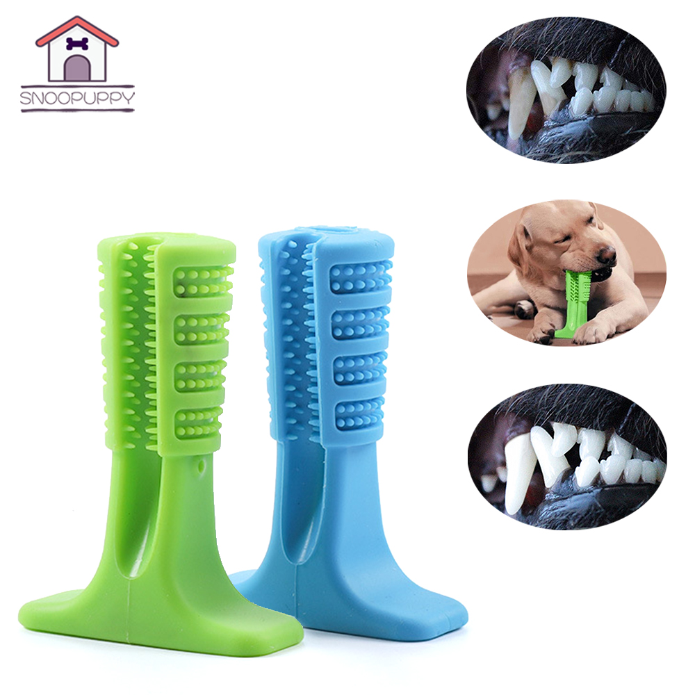 Pet Products Big Dog Toothbrush For Dogs Effective Brushing Stick Teeth Cleaning Toys For Small Medium Large Dog FS0001 image