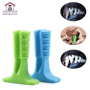 Productos para mascotas cepillo de dientes de perro grande para perros eficaz cepillo de dientes juguetes de limpieza para perro pequeño mediano grande FS0001