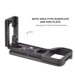 Image 5 - Soporte de placa L de liberación rápida soporte de trípode de mano para cámara Sony Alpha A6600