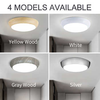 Bathroom led ceiling lights Dimmable waterproof IP50 40w 220v lighting fixtures for Bedroom Livingroom modern ceiling lamps