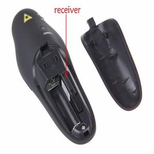 2,4 ГГц беспроводной пульт дистанционного управления красная лазерная указка ведущий указатели ручка USB RF пульт дистанционного управления ler PPT Powerpoint презентация