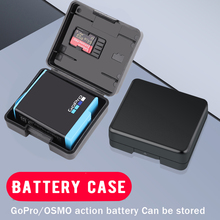 Protective Storage Battery for GoPro Hero 9 8 7 6 5 4 Black Session Xiaomi Yi MiJia 4k SJCAM SJ4000  SJ8/9/10 Camera Accessorie