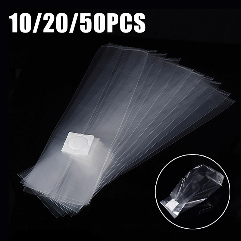 10//20//50pcs Mushroom Grow Bags Large Grain Spawn Gourmet Autoclavable Heat Seal