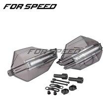 Evrensel motosiklet el muhafızları LED sinyal lambası koruyucular için Suzuki BURGMAN 400 GS1000 GS500E GS550M Katana