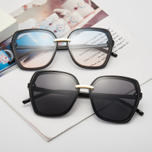 Fashion Sunglasses Male Gradient Oversize Female Sun Glasses Simple Designer UV4