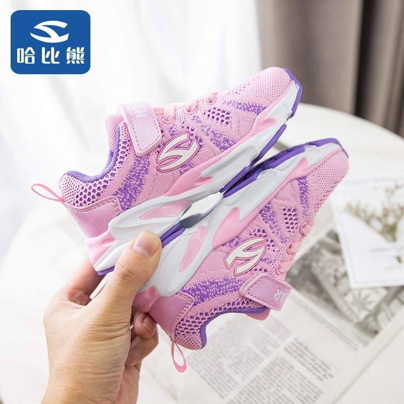 Детская обувь Ha Than Xiong Tongxie, сетчатая обувь для женщин, осень 2019, кроссовки для отдыха, мужская обувь