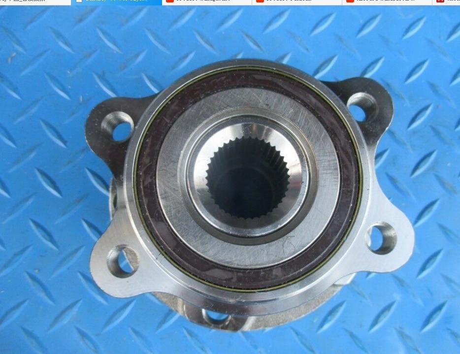Cuscinetto del Mozzo Ruota Cuscinetto ruota Con Mozzo di Montaggio per Bentley 3W0407613E