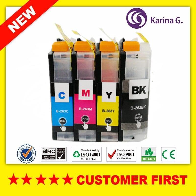 Совместим с Brother LC263 (LC261), чернильные картриджи, подходит для принтера Brother MFC-J480DW MFCJ680DW MFCJ880DW