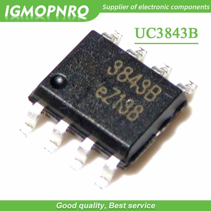 100 PCS UC3843BD SOP-8 UC3843B UC3843 3843B PWM CONTROL