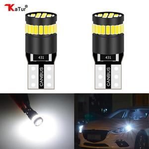 2x T10 led Canbus bulb W5W 168 194 car Clearance Parking Lights For Kia Rio K2 K3 K5 K4 KX5 Cerato Soul Forte Sportage R Sorento(China)
