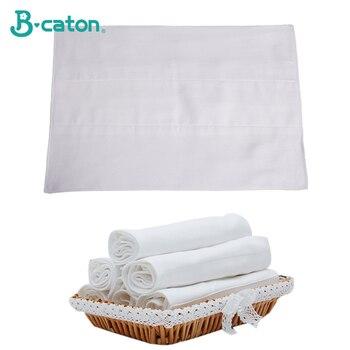 Baby Windel Baumwolle Tuch Windeln Reusable Waschbar 6 Schichten Baumwolle Gaze Verdickung Eingebauten Saugfähigen Vergrößern Größe 50x36 cm