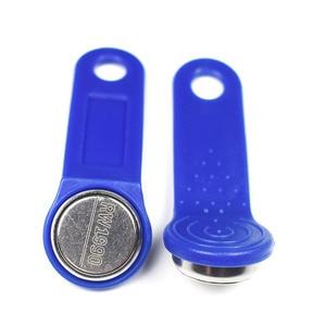 Image 5 - 10 шт./лот Перезаписываемый RFID сенсорный ключ памяти RW1990 iButton для копировальной карты сауна Даллас ключи карты