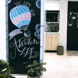 200x 100cm Tafel Aufkleber Abnehmbare Vinyl Ziehen Tafel Nachricht Bord Kinder Kinder Schreiben Malerei Graffiti Boards Spielzeug