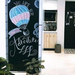 200x100cm Adesivi Lavagna Smontabile Del Vinile Disegnare Lavagna Tabellone messaggi Per Bambini I Bambini di Scrittura Pittura Graffiti Schede di Giocattolo
