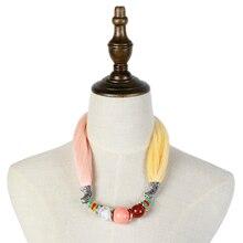 Jzhifiyer feminino inverno jewellery pendant loop scarfs hijab muffler scarf ladies chiffon ring jewelry