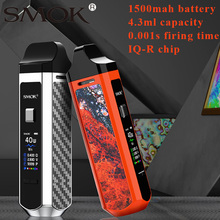 Nieuwste Smok RPM40 Pod Kit 40W Vape 1500 Mah Batterij 4.3 Ml/4.5 Ml Pod Cartridge Rpm Mesh coil Tft 0.96 Scherm Pod Systeem Vape Kit