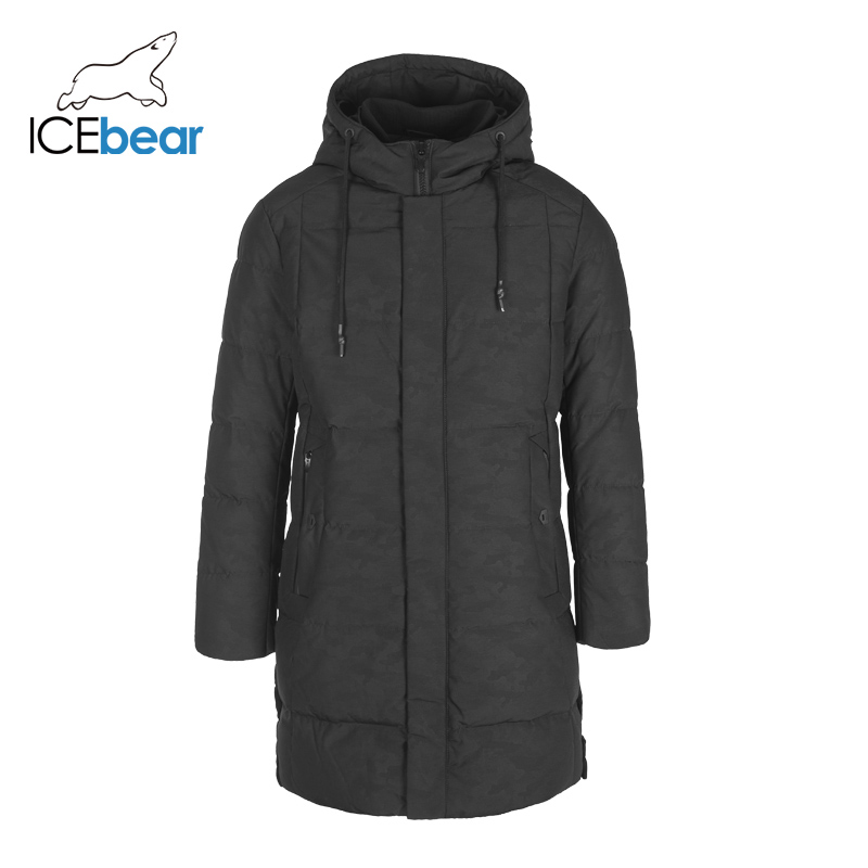 ICEbear 2019 New Winter Mens Down Jacket Fashion Jackets Male Outerwear Brand Clothing YT8117150