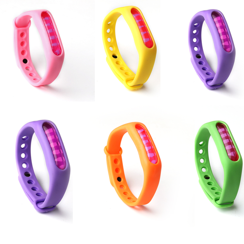 6 stücke mix farbe Mückenschutz Armband Für BR shopper