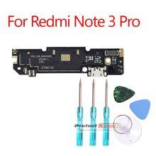 Placa de conexión para Xiaomi Redmi Note 3 /Redmi Note 3 Pro, Micro puerto de carga USB, Cable flexible de repuesto, 1 Uds.