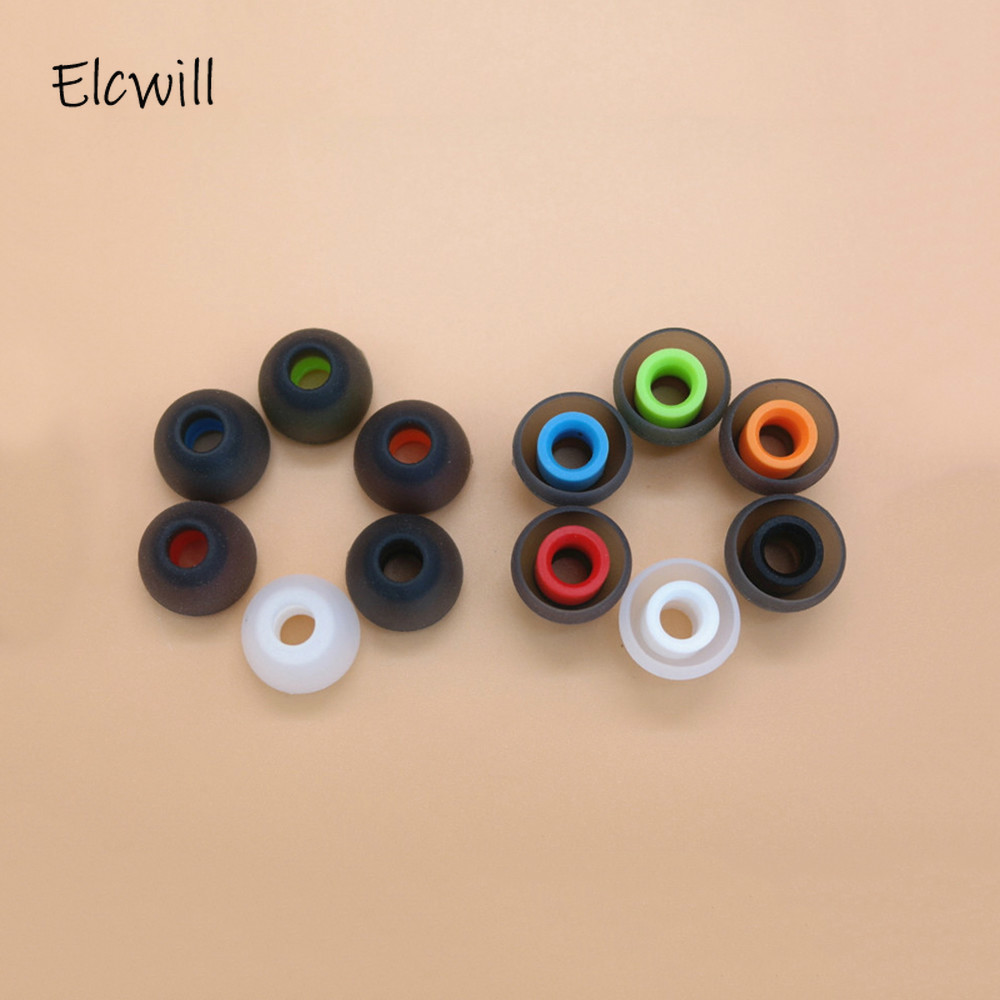 US 10 Pairs Silicone In-ear Earbuds Earphone Tip Cover Replacement Rubber Cover