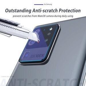 Image 2 - Закаленное стекло для Samsung Galaxy Note 20 Ultra S20 Plus, Защитное стекло для объектива камеры Samsung Note 20, Защитная пленка для Samsung Note 20, Note 10 Plus, S10