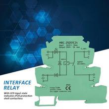 MRC-25D51C24 PLC Interface Relay 24V DCto 250V AC Electromagnetic Relay Module 5A NO free shipping 100% new original relay 10pcs lot aldp124 24v 5a 250v g5nb 1a e